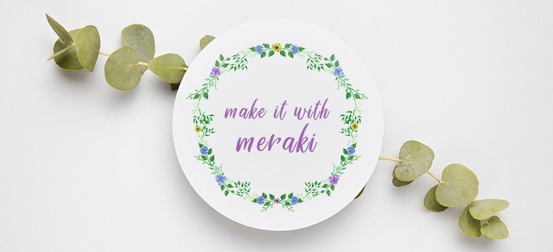 Make it with meraki - Newsletter2