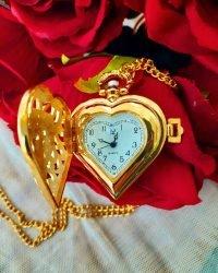 pocket heart shape watch 1