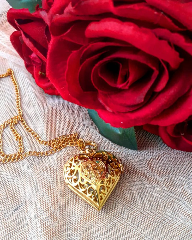 pocket heart shape watch