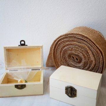 wooden mini chest